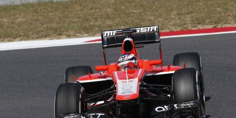 Marussia's Jules Bianchi is currently 19th in the Formula One standings.