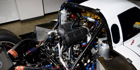 Michael Shank Racing will be using a new EcoBoost 3.5-liter turbocharged V6 race engine from Ford in the United SportsCar Championship.