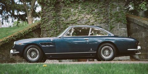 This lovely 330 GT 2+2 has an interesting back story.
