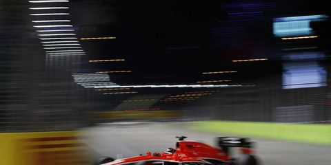 Jules Bianchi will stay with Marussia in 2014.
