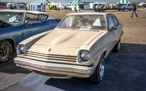 This Chevy Vega brought $10,500.