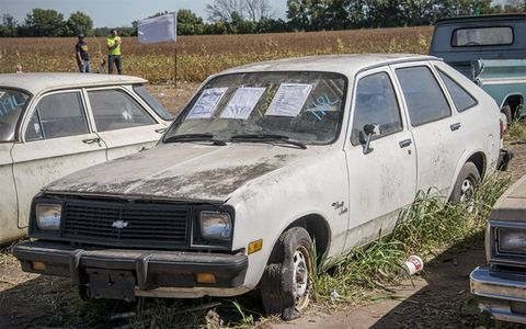 Did you even know there was a Chevette trim level called Scooter?