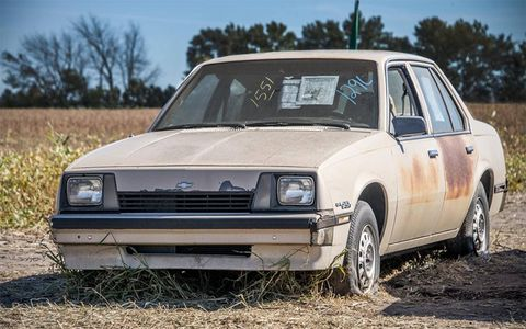 What would you pay for a manual 1986 Chevrolet Cavalier with delivery mileage?