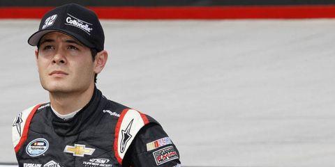Larson will replace Juan Pablo Montoya at Earnhardt Ganassi Sabates Racing next season.