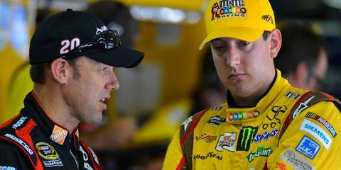 Joe Gibbs Racing teammates Matt Kenseth and Kyle Busch, are first and third, respectively, in the NASCAR Chase for the Championship heading to Kansas.