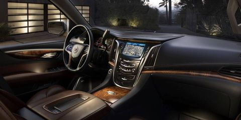 We like to think that this interior smells of rich mahogany.