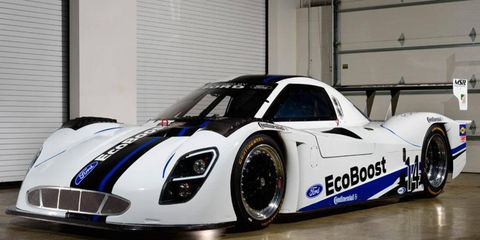 The new Ford DP will make its competition debut at the 2014 season-opening Rolex 24 at Daytona International Speedway on Jan. 25-26, and will run the entire 12-race United SportsCar Championship season.