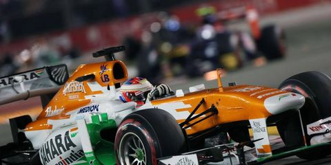 Paul Di Resta is having a solid season with Force India this year, but he is not guaranteed a spot on the team in 2014.