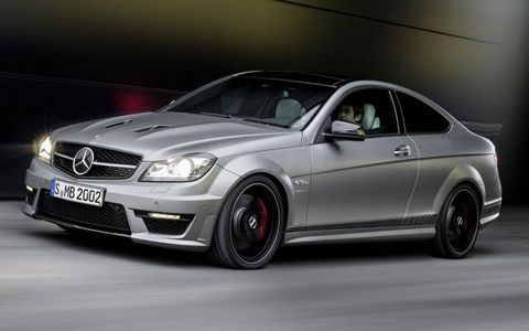 The 2014 Mercedes-Benz C63 AMG Edition 507 goes on sale this summer in the United States.