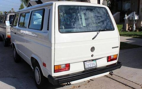 The VW Vanagon is a vehicle that was often used hard, and pristine examples are hard to come by today.