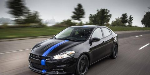 The 2013 Dodge Dart Mopar special edition will be revealed in person at the Chicago Auto Show.