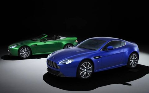 The Aston Martin V8 Vantage S Coupe and Roadster