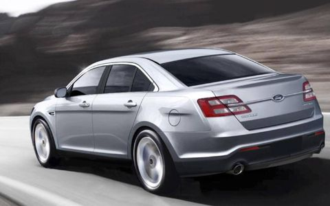 The 2013 Ford Taurus Limited AWD offers plenty of cargo space.