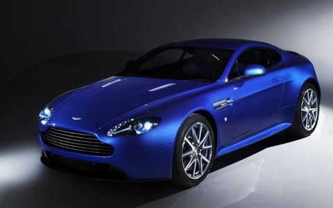 The Aston Martin V8 Vantage S Coupe