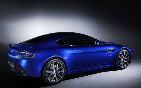 The Aston Martin V8 Vantage S Coupe