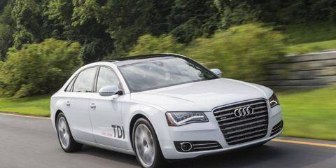 The 2014 Audi A8L TDI is the clean diesel version of Audi's flagship sedan.