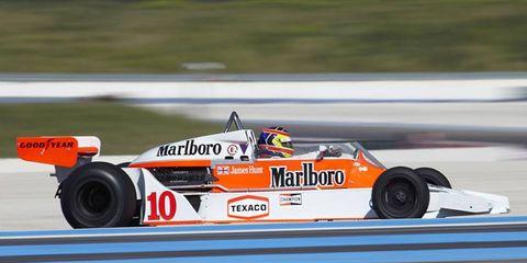 James Hunt's 1977 McLaren M26.