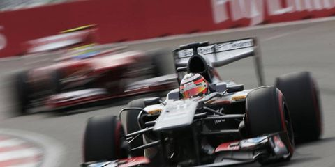 Hulkenberg has struggled with Sauber this season, currently ranking 10th in the Formula One standings.