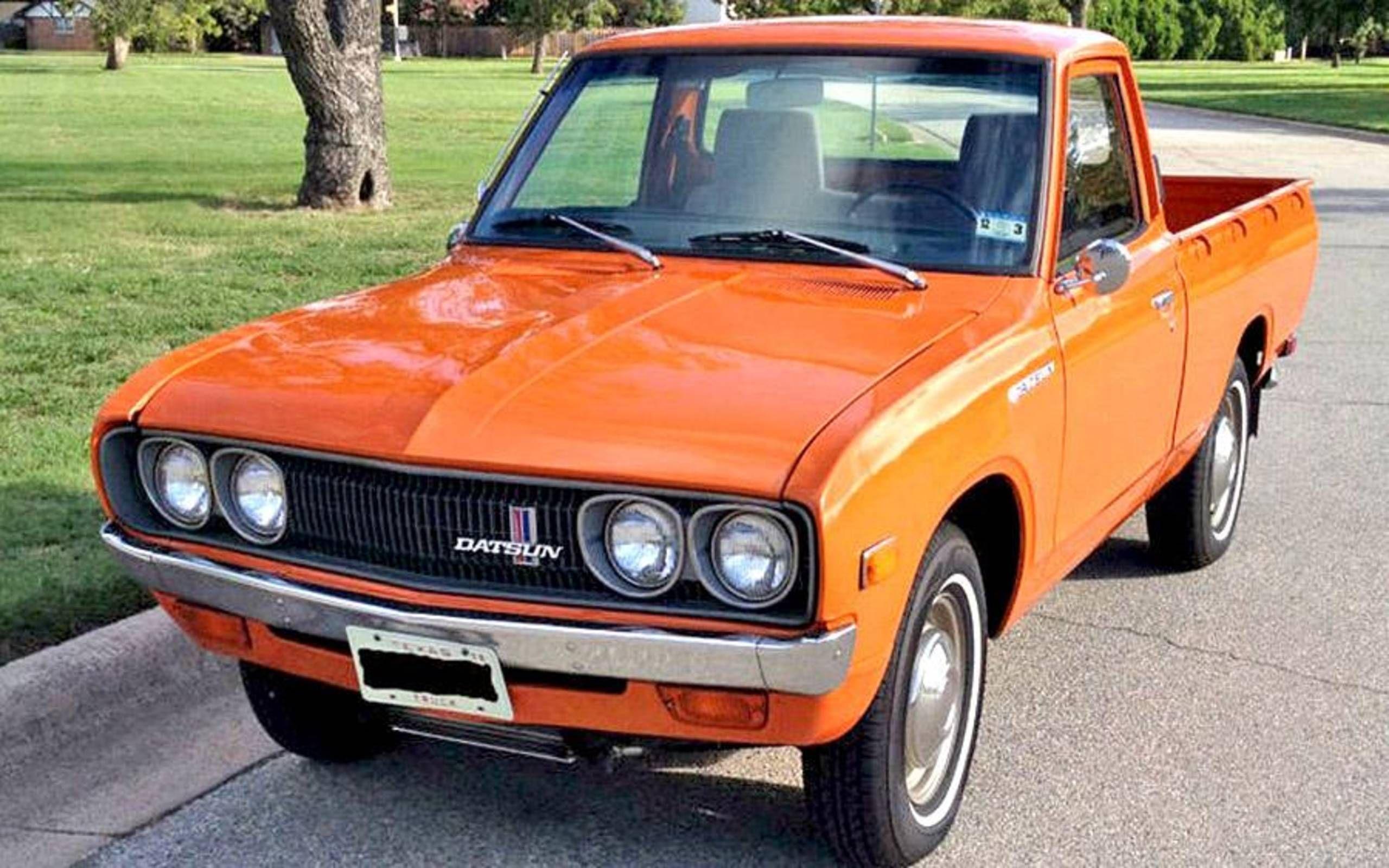 Found On Ebay 1974 Datsun 620 Series Pickup