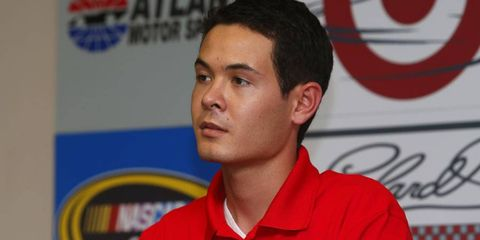Larson will be replacing the departing Juan Pablo Montoya next season.