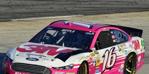 Greg Biffle finished 10th on Sunday in Martinsville, but was really upset with Jimmie Johnson.