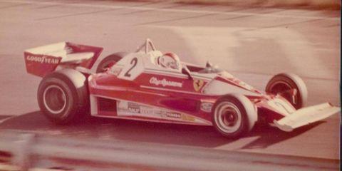 Clay Regazzoni at Watkins Glen in 1976. He left Ferrari a year later.