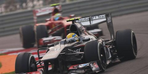 The Sauber F1 team is not a part of the Formula One Strategy Group that will play a role in the running of the series.