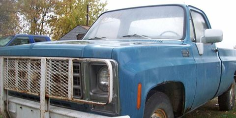 This 1980 Chevrolet C10 was one of the best buys among the project trucks, we thought.