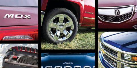 Autoweek magazine presents its 2014 Best of the Best Truck finalists