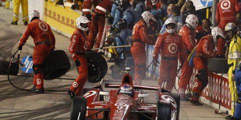 Scott Dixon won the IndyCar Series title on Saturday in Fontana.