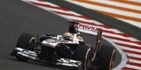 Formula One driver Pastor Maldonado is unsure what team he'll be driving with next season in 2014.