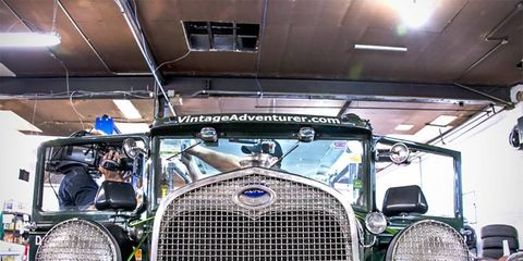 The 1930 Ford Model A is set to beat 60 hours from New York to LA.