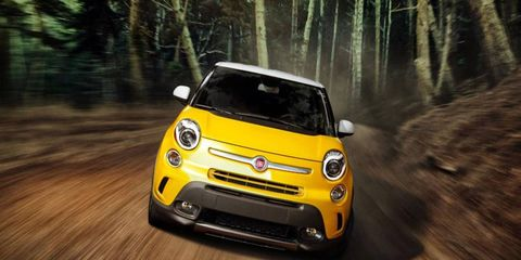 The 2014 Fiat 500L Easy offers practicality and fun at the same time.