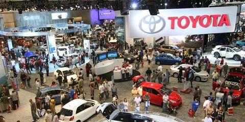 The LA Auto Show begins in November.