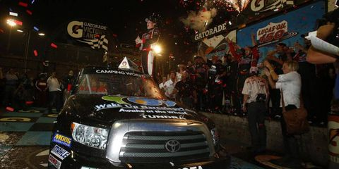 Erik Jones was the winner of the Camping World Trucks race on Friday night out in Phoenix.