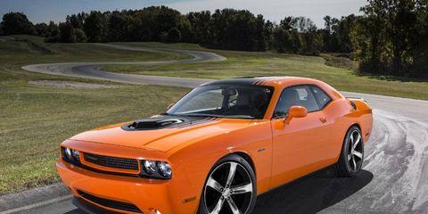 2014 Dodge Challenge R/T Shaker for SEMA.