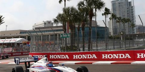 Sage Karam, the 2013 Indy Lights champion, plans to move up to IndyCar next year.