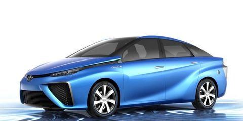 The Toyota FCV will debut at the Tokyo Motor Show