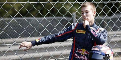 Kvyat has 131 points this season in GP3 and could still make a run at the championship.