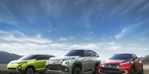 Mitsubishi will have a total of 17 cars at the 2013 Tokyo Motor Show.