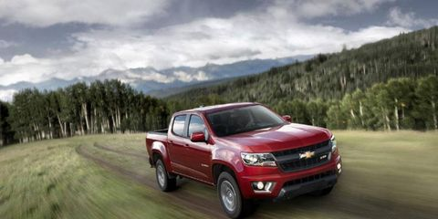 The 2015 Chevy Colorado debuts in late 2014.