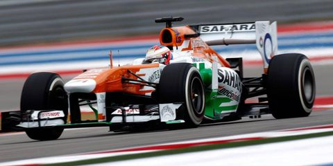 Paul di Resta may be under consideration for an IndyCar ride for 2014.