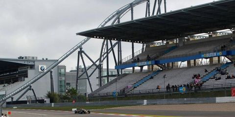 The Nürburgring has been an alternating site for the Formula One German Grand Prix since 2007.