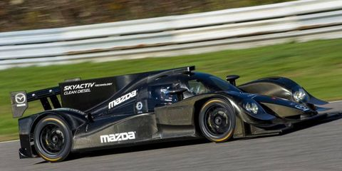 The car will compete during the entirety of the 2014 Tudor United SportsCar Championship.