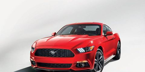 Meet the new 2015 Ford Mustang.