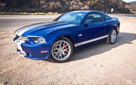 The Shelby Mustang GT was unveiled at the LA Auto Show. We drove it a bit earlier.
