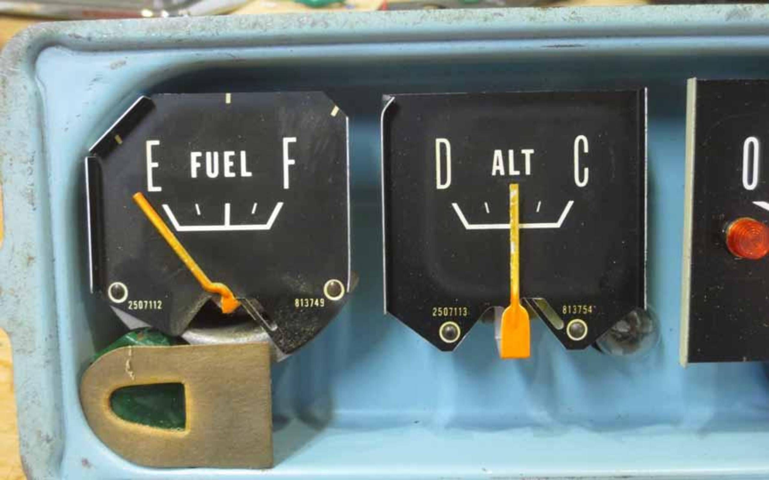 building a 'temporary' 1966 dodge van instrument cluster, with a little  help from the junkyard  autoweek
