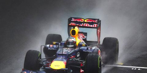 Sebastian Vettel secured the 2012 Formula One title at last year's Brazilian Grand Prix.