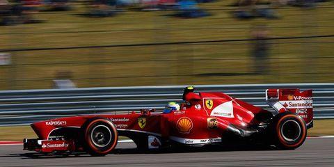 Felipe Massa will be running his last race for Ferrari on Sunday. He moves to the Williams F1 team next season.