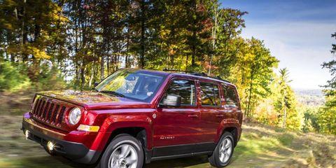 We adore the 2014 Jeep Patriot Latitude.